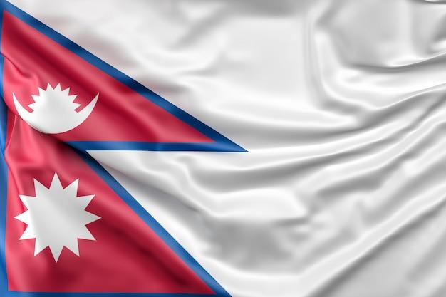 Vlag van nepal Gratis Foto