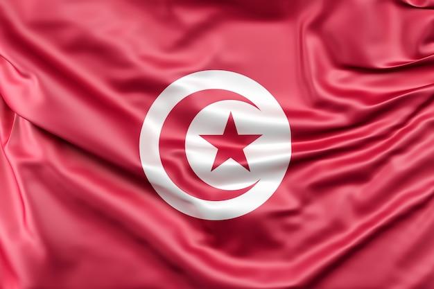 Vlag van tunesië Gratis Foto