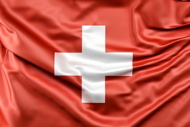 Vlag van zwitserland Gratis Foto