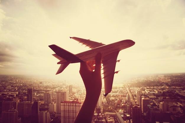 Vliegtuig vliegtuigen reistrip Gratis Foto
