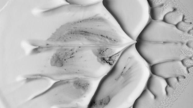 Vlotte witte schuim geweven artistieke achtergrond Gratis Foto
