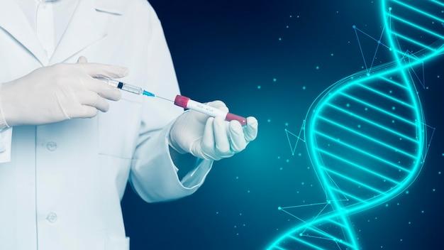 Vooraanzicht van vaccin medisch concept Gratis Foto