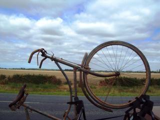 Vooroorlogse somme bicyclette - somme-cyclus w, fiets Gratis Foto