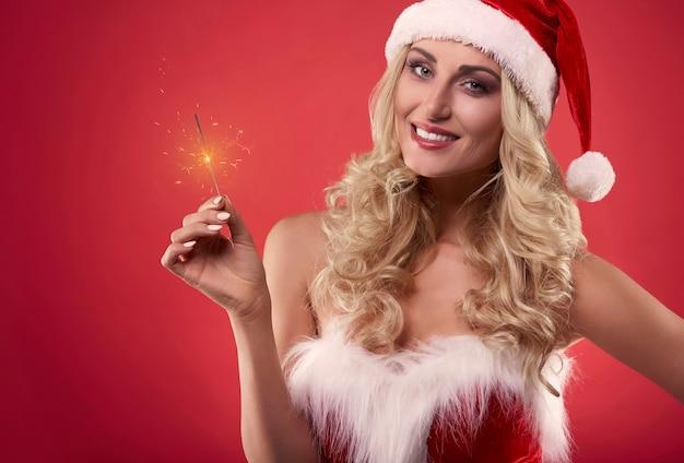 Vrolijk kerstfeest en een gelukkig nieuw jaar Gratis Foto