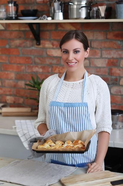 Vrouw koken Gratis Foto