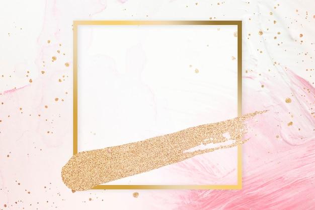 Vrouwelijk vierkant frame Gratis Foto