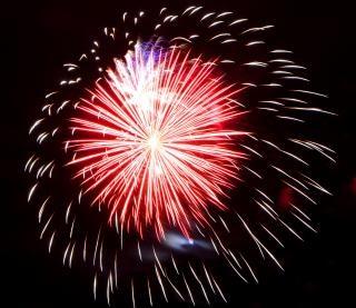 Vuurwerk, independenceday Gratis Foto