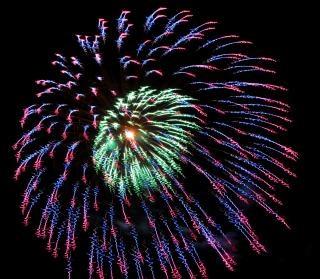 Vuurwerk, vakantie, independenceday Gratis Foto