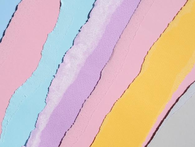Warm en koud mengsel van kleuren papier abstract Gratis Foto