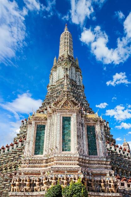 Wat arun-tempel Premium Foto