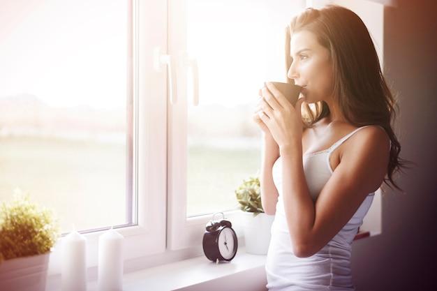 Wat een geweldige manier om wakker te worden! Gratis Foto