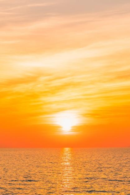 Water blauwe zonsondergang filter beauty Gratis Foto