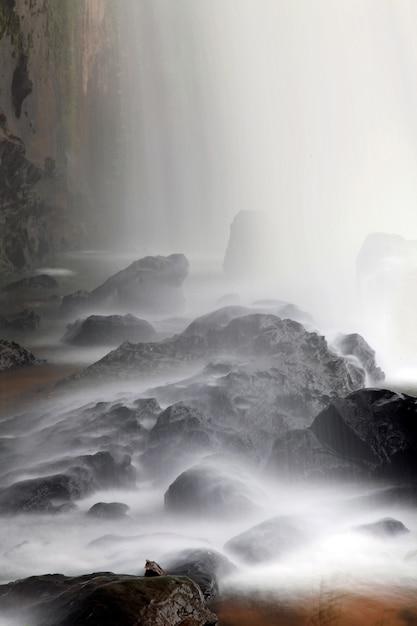 Waterval close-up Premium Foto