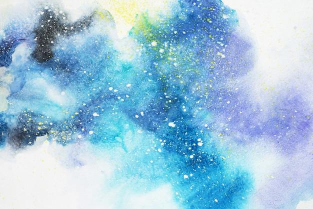 Waterverf abstracte het schilderen textuurachtergrond Premium Foto