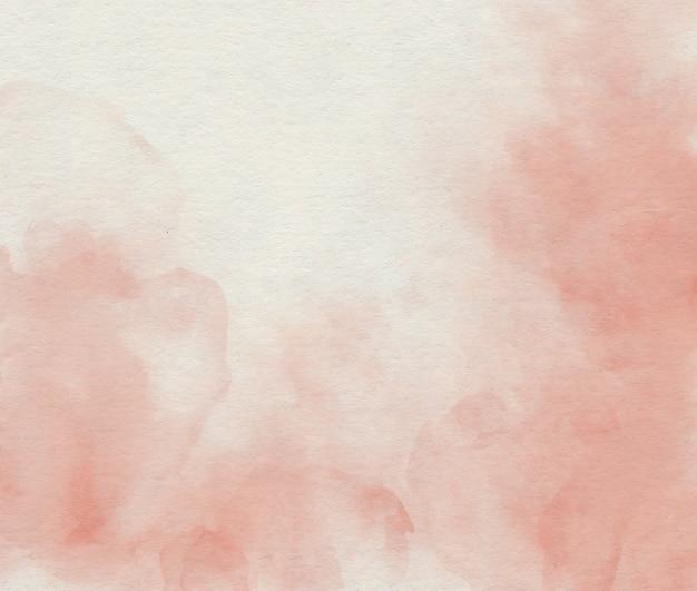 Waterverf zachte roze abstracte achtergrond Premium Foto