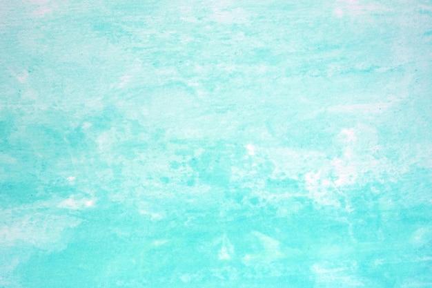 Waterverfachtergrond, kunst abstracte blauwe waterverf die geweven ontwerp op witboekachtergrond schilderen Premium Foto