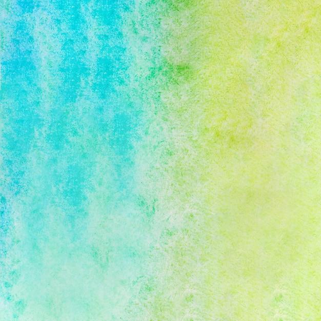 Waterverftextuur achtergrond blauw en groen Gratis Foto