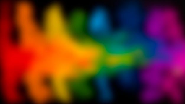 Wazig festival van nadruk multicolored holi Gratis Foto