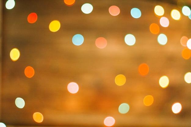 Wazig kerstmis achtergrond Gratis Foto