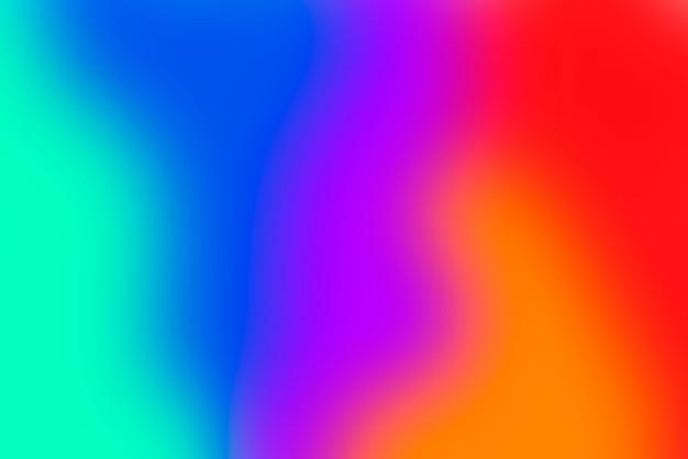 Wazig verloop abstracte achtergrond met levendige primaire kleuren Gratis Foto