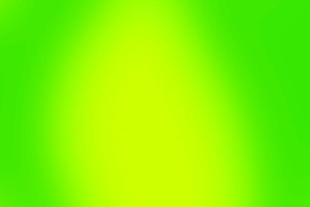 Wazig verloop groene en gele achtergrond Gratis Foto