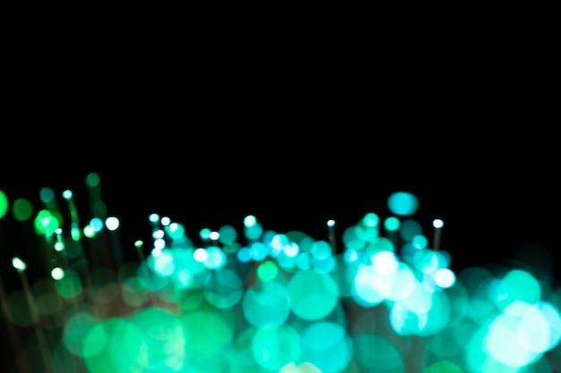 Wazige lichtvlekken en kopie ruimte Gratis Foto
