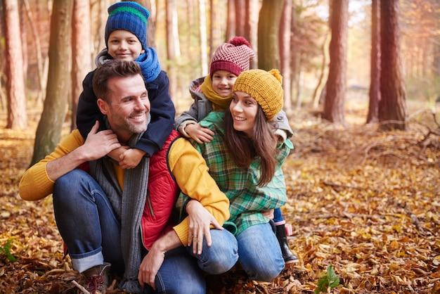 We houden allemaal van een goede wandeling in het bos! Gratis Foto