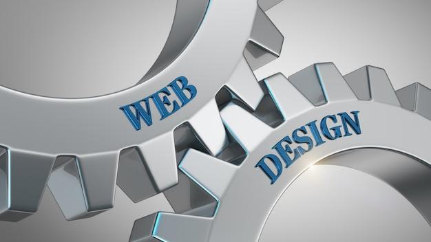 Web ontwerpconcept Premium Foto