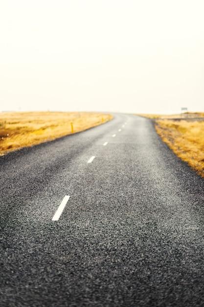 Weg op het platteland Gratis Foto