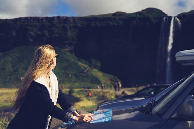Weg vrouw mooi safari jonge Gratis Foto