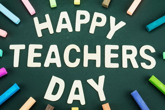 Werelddag voor leerkrachten Gratis Foto