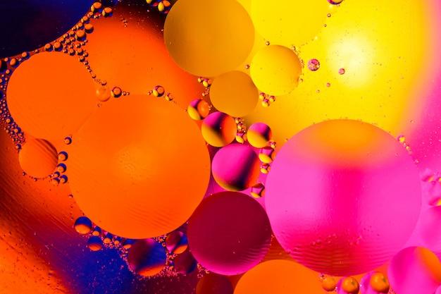 Wetenschappelijke abstracte achtergrond van celmembraan. Premium Foto