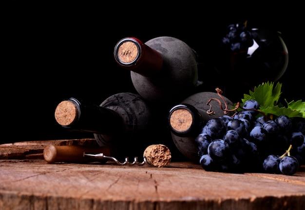 Wijnkelder, de oogst van dit jaar Premium Foto
