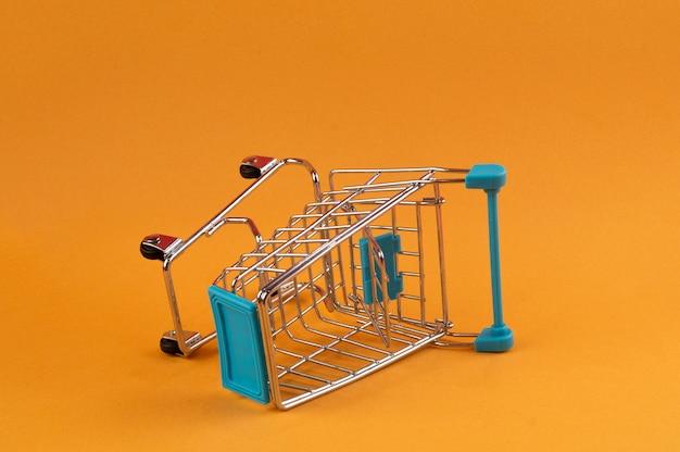 Winkelwagen is leeg Premium Foto