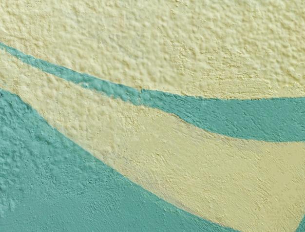 Wit en lichtblauw buitenbehang Premium Foto