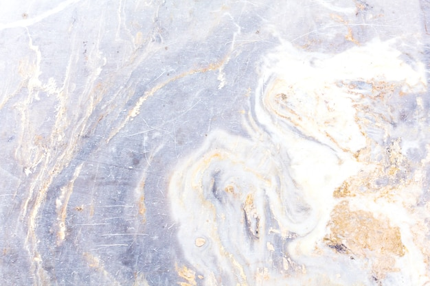 Wit marmeren textuur abstract patroon als achtergrond met hoge resolutie. Premium Foto
