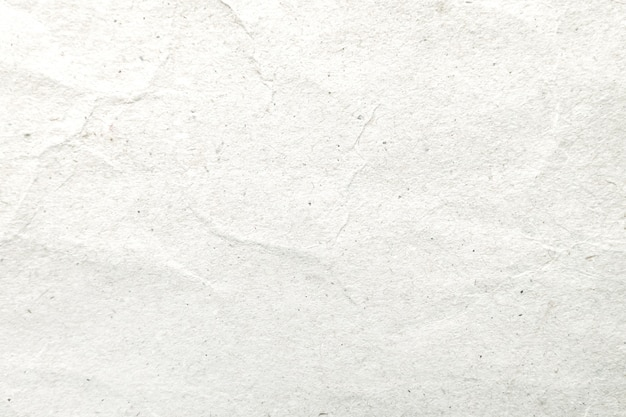 Wit verfrommeld document patroon en textuurachtergrond. Premium Foto