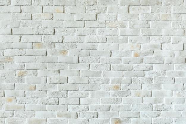Witte bakstenen muur achtergrond Gratis Foto
