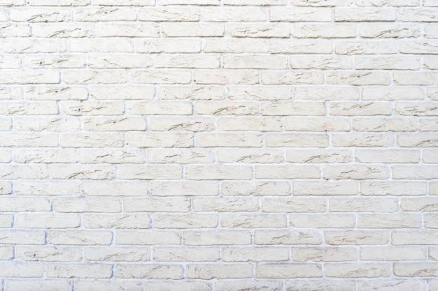 Witte bakstenen muur. het patroon van baksteen met witte vulling Gratis Foto