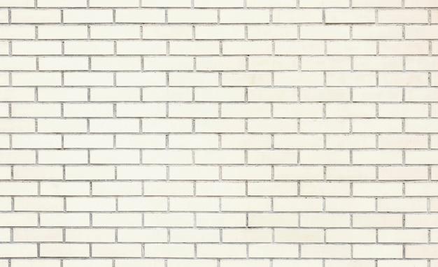 Witte bakstenen muur textuur of achtergrond Premium Foto