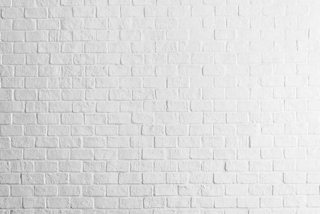 Witte bakstenen muur textuur Gratis Foto