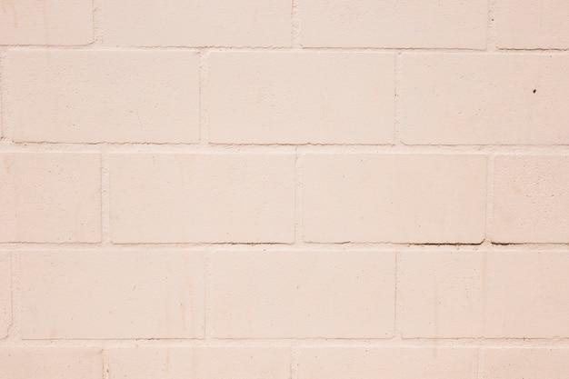 Witte bakstenen muur Gratis Foto