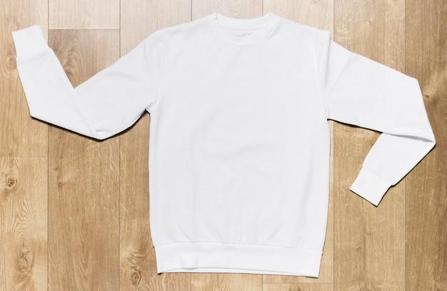 Witte casual hoodie Gratis Foto