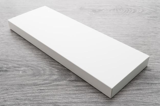 Witte doos voor mock-up Gratis Foto