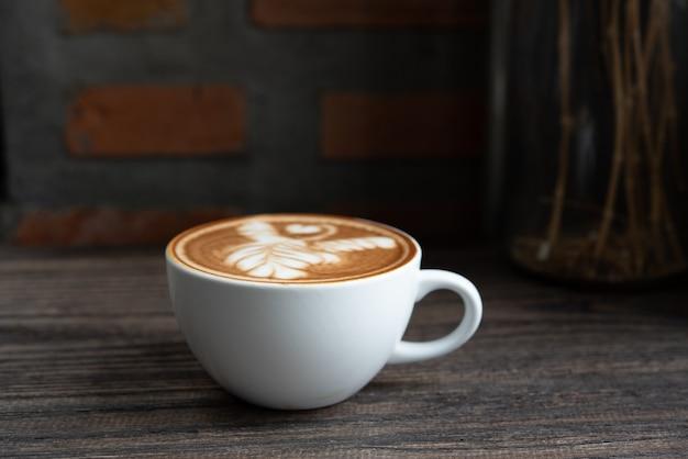 Witte koffiekop Premium Foto