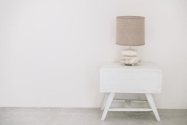Witte lamp tafeldecoratie hotel Gratis Foto