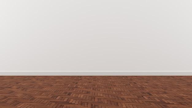 Houten Vloer Tegels : Witte muur donker bruin tegel houten vloer foto premium download