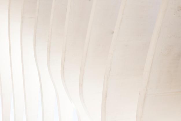 Witte naadloze abstracte geometrische muurachtergrond Gratis Foto