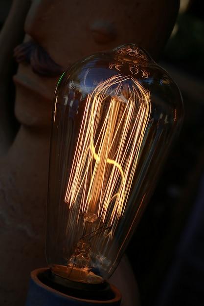 Wolfraam lamp Premium Foto