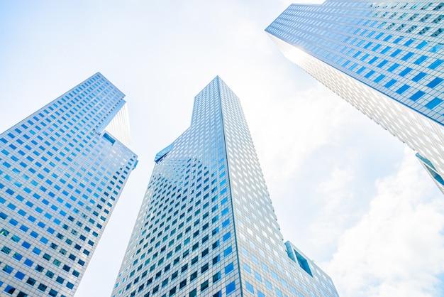 Wolkenkrabber gebouw Gratis Foto